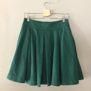 Anthro Green Skirt Maeve